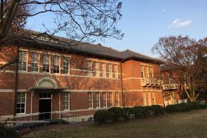 国登録有形文化財「同志社女子大学ジェームズ館」は「同志社女子部の母」デントンが創建